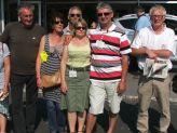L'équipe organisatrice, sans oublier, Michel et Nicole boulanger, ainsi que Yves derrière l'objectif