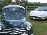 4 CV et Jaguar