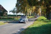 Renault 4CV parade allée de la Motte