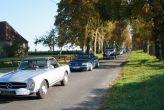 Mercedes 230 SL, parade allée de la Motte