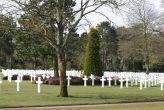 Hommage au cimetière Américain