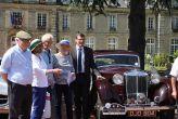 Accueil par Mrle Maire de Carentan